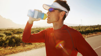 Hydrating While on a Run