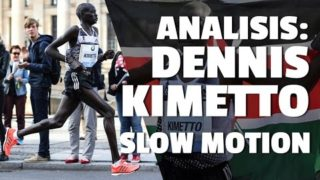DENNIS KIMETTO, técnica de carrera – SLOW MOTION