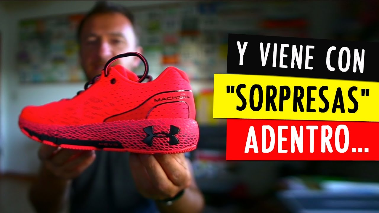 "La PRIMERA ZAPATILLA con PLACA para CORREDORES PESADOS 😱 y ""NO RÁPIDOS"": Under Armour Machina"